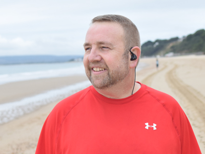 Martin gets active on Bournemouth beaches