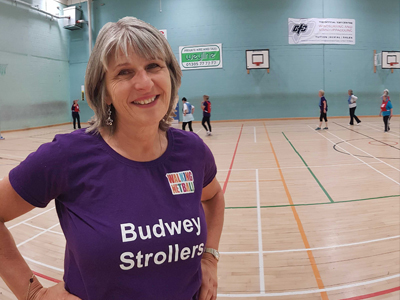 After losing two stone, Julia from Weymouth had the confidence to get active