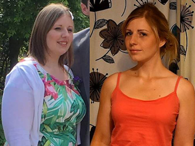 Georgina from Weymouth lost weight and got active